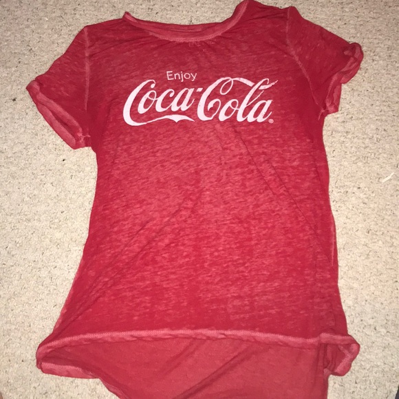 a4b6410a Forever 21 Tops | Coca Cola Graphic Tee | Poshmark